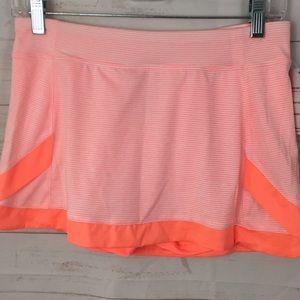 Champion Girls XL (14/16) Orange Athletic Skort